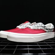 Fear of God x Vans Red_4