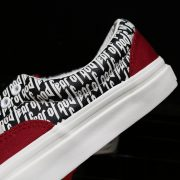 Fear of God x Vans Red_9